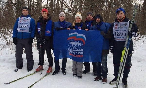 Практически 300 назаровцев приняли участие в«Лыжне России»